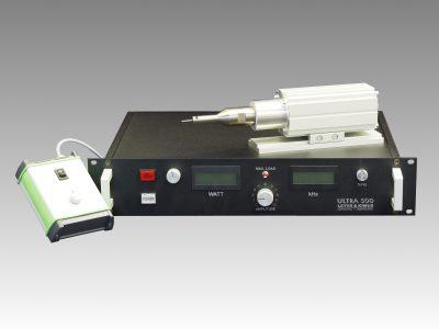 28 kHz Schallwandler mit Generator und Handsteuerung