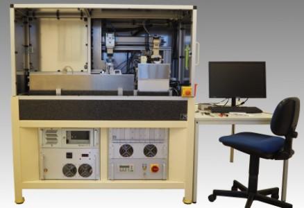 Vollautomatische Laserbohranlage