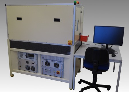 vollautomatisierte Laserbohranlage