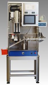 Ziehsteinbearbeitungsautomat zum Bohren und Polieren