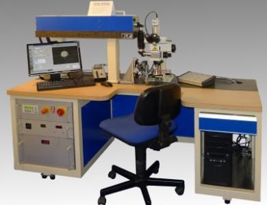 Universal Laserbohranlage für Ziehsteinbearbeitung
