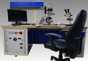 Universal Laserbohranlage zum restaurieren gebrauchter Ziehsteine